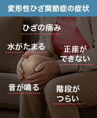 変形性ひざ関節症の症状