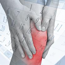 保存的治療を6ヵ月続けてもひざの痛みが改善されないことが、手術適応のひとつの目安と言えます。